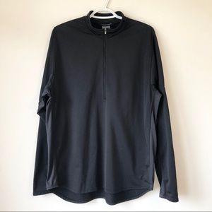 Nike Sphere 1/4 Zip Up Black Sweatshirt Running XL